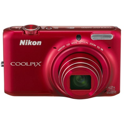 Фото  Nikon Coolpix S6500 Red