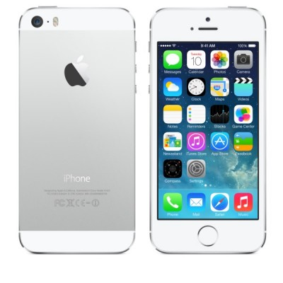Фото  Apple iPhone 5S 16Gb Silver A1457