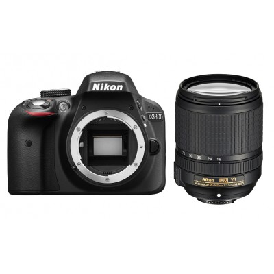 Фото  Nikon D3300 Kit 18-140 DX VR Black