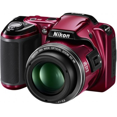 Фото  Nikon Coolpix L810 Red