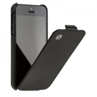 Фото  Hoco Leather чехол для iPhone 5 Black