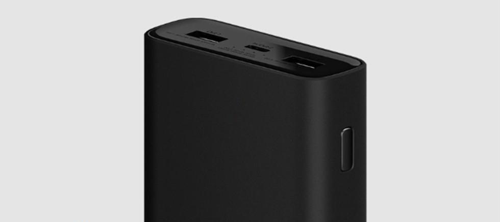 Внешний аккумулятор Xiaomi Mi Power Bank 3 20000mAh (PLM07ZM) Черный
